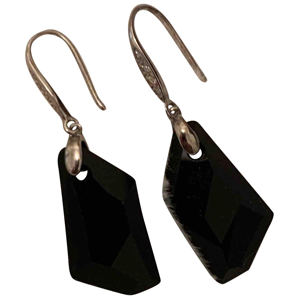 - Boucles doreilles   pour femme en autre - noir