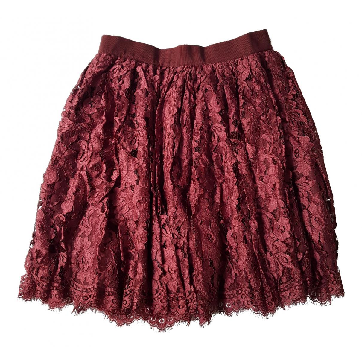 D&g \N Burgundy skirt for Women 42 IT