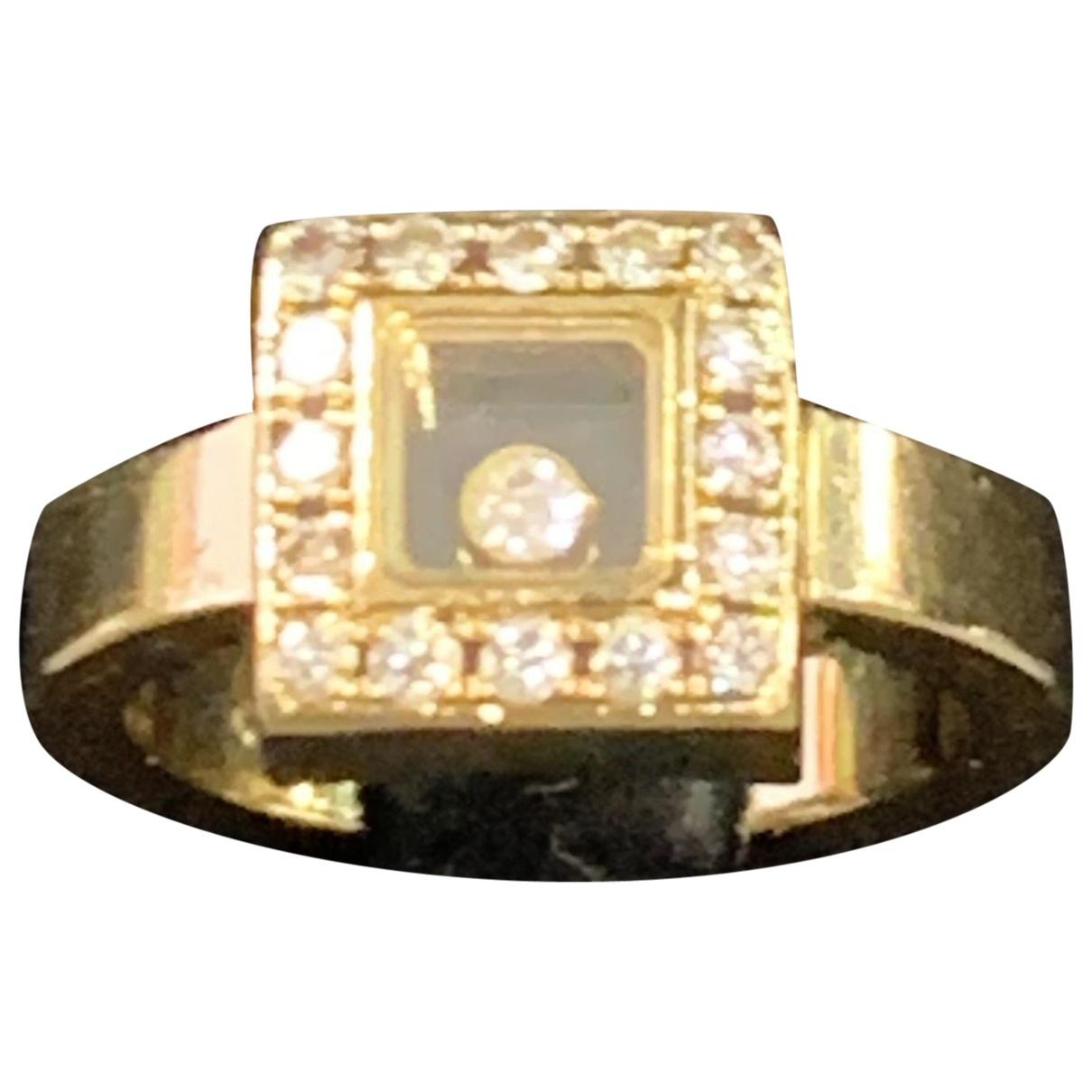Chopard - Bague Happy Diamonds pour femme en or jaune
