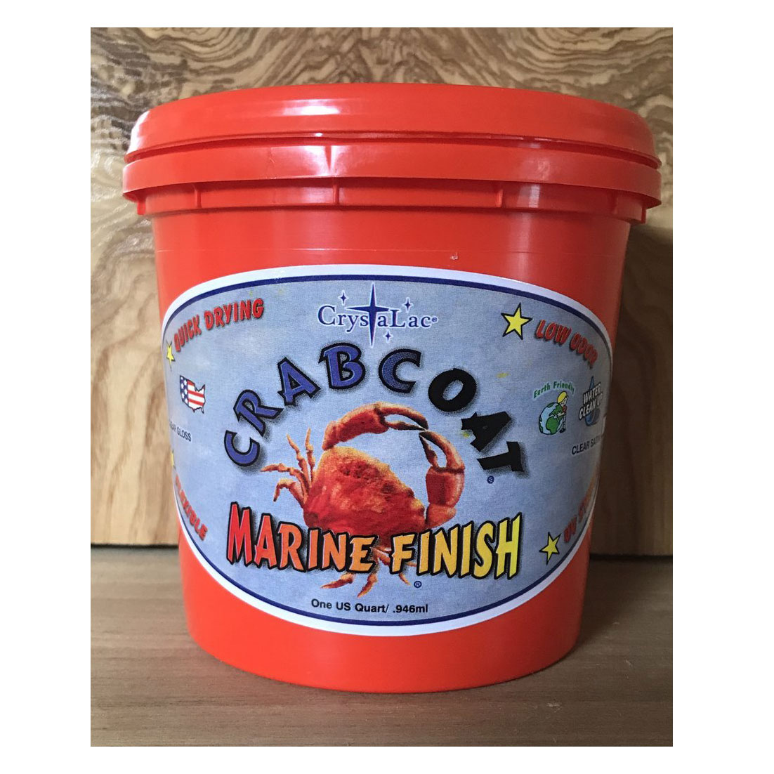 CrabCoat Marine Finish Satin Mini Half Pint