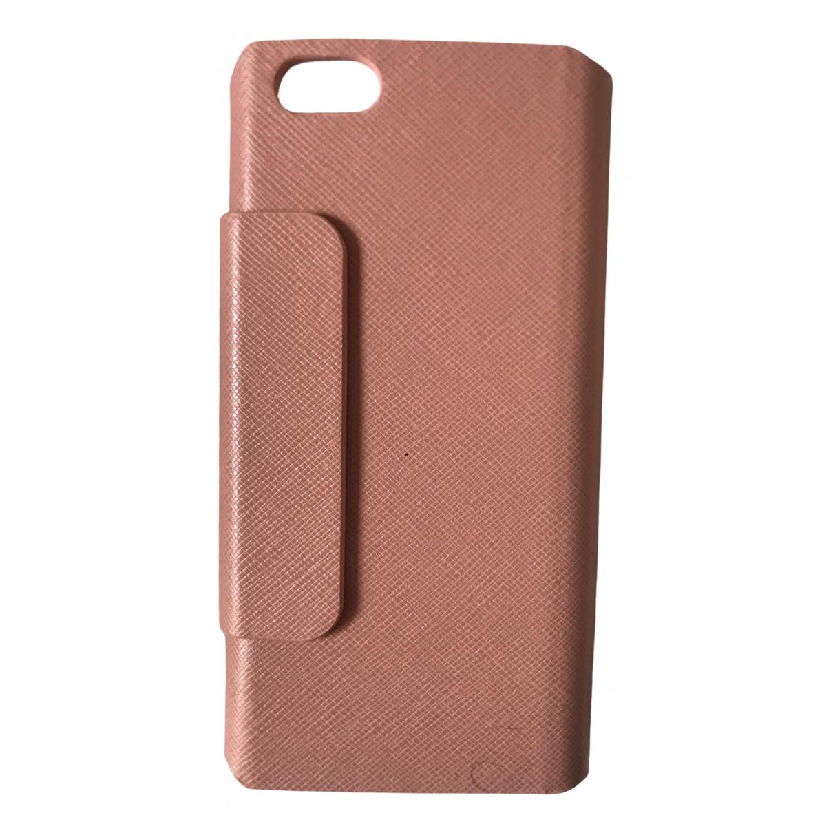 Coccinelle - Accessoires   pour lifestyle en cuir - rose