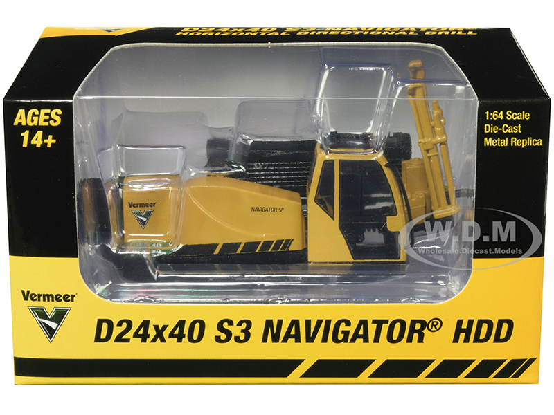 Vermeer D24x40 S3 Navigator HDD Horizontal Directional Drill 1/64 Diecast Model by SpecCast