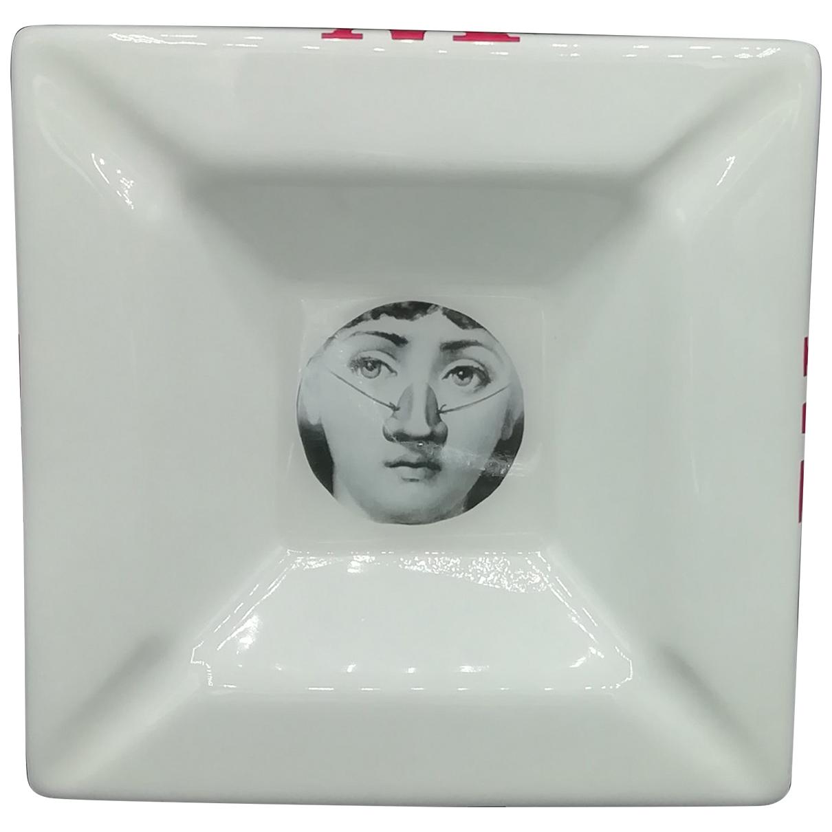 Fornasetti - Objets & Deco   pour lifestyle en ceramique - blanc