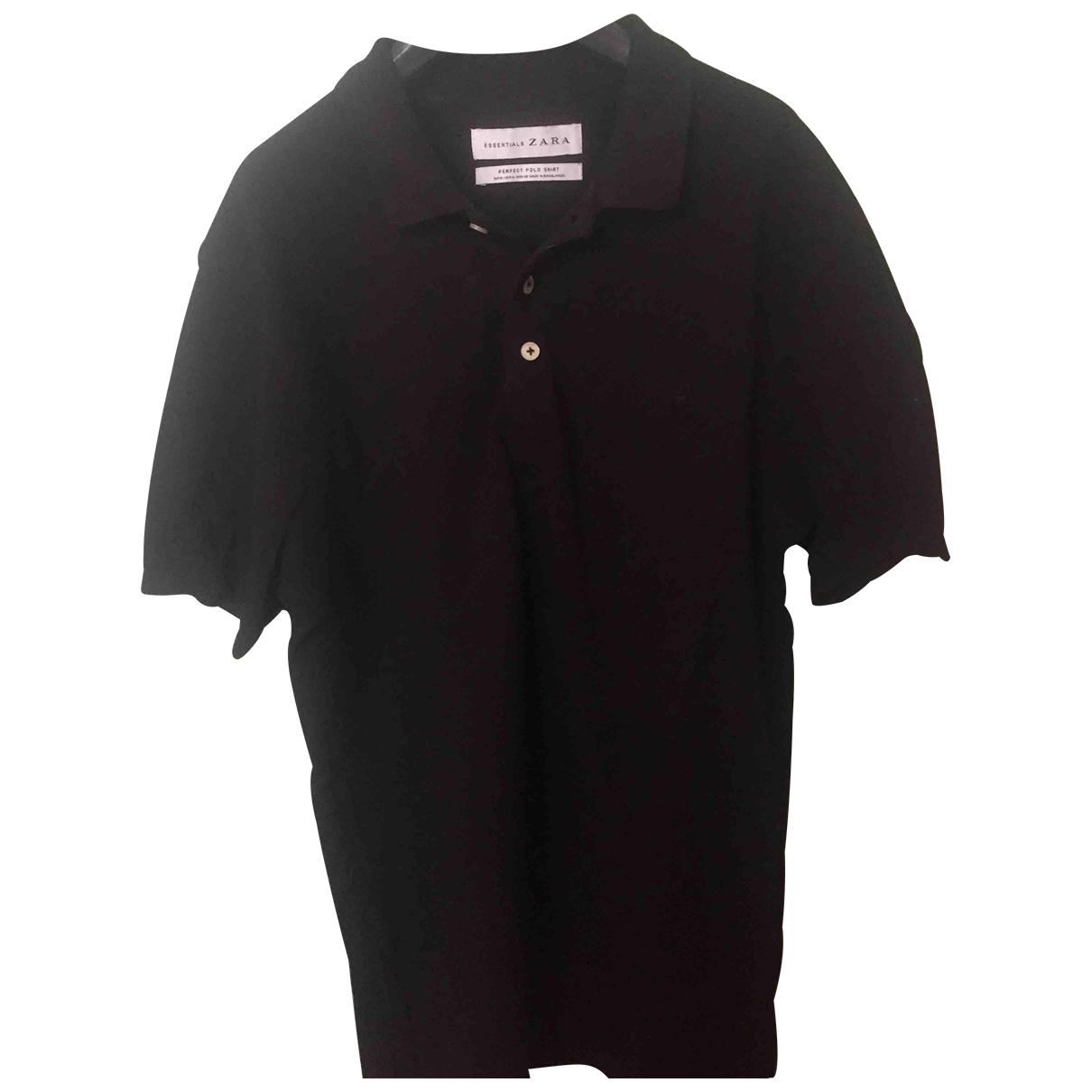 Zara \N Black Cotton T-shirts for Men M International