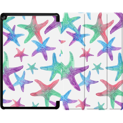 Amazon Fire HD 10 (2018) Tablet Smart Case - Starfish Print von Becky Starsmore