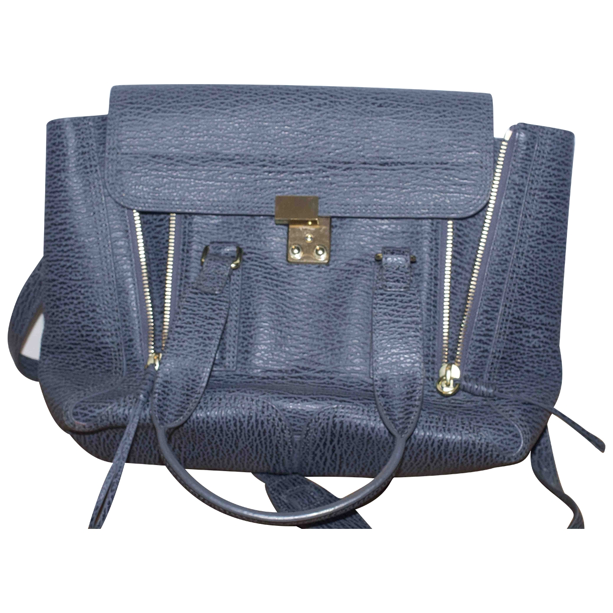 3.1 Phillip Lim Pashli Grey Leather handbag for Women \N