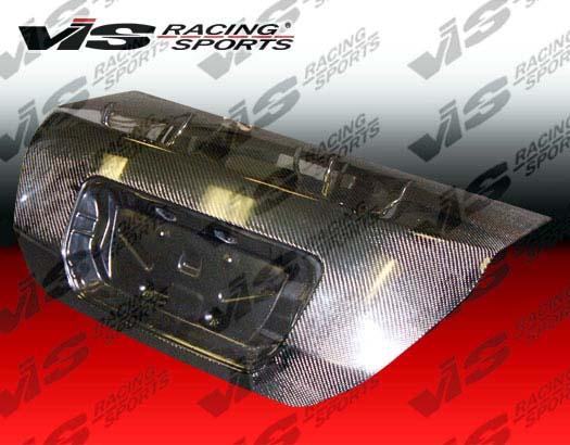 VIS Racing 06HDCVC2DOE-020C Carbon Fiber OEM Trunk Lid Honda Civic 06-08