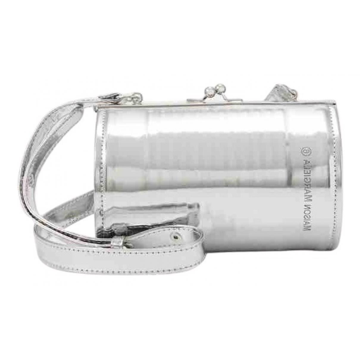Mm6 \N Handtasche in  Silber Polyester