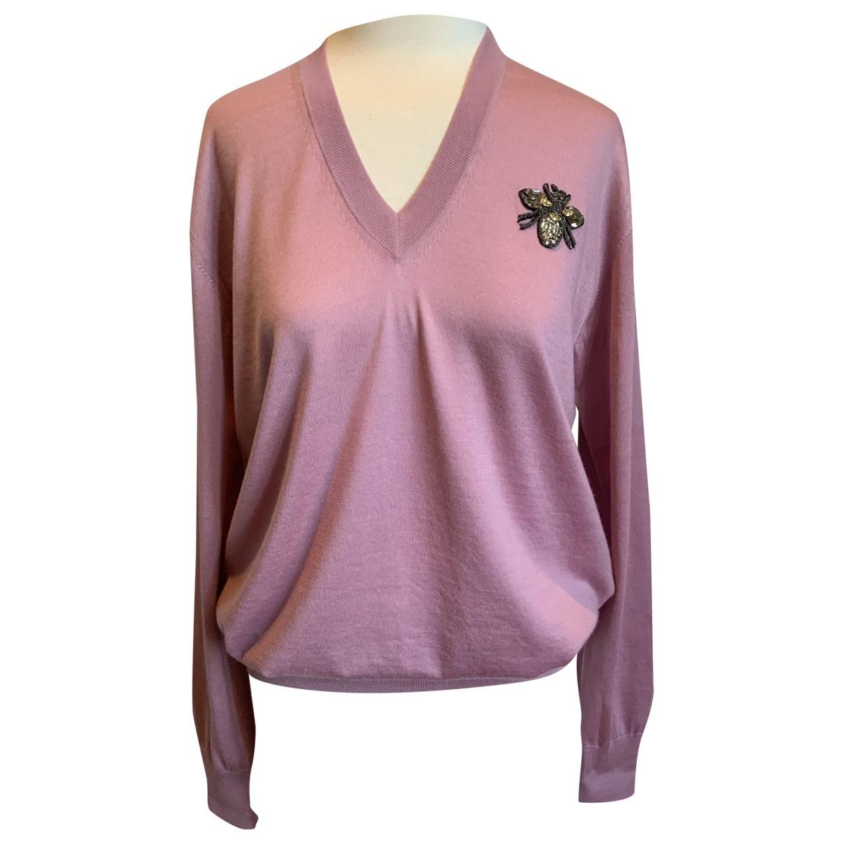 Dolce & Gabbana \N Pink Cashmere Knitwear for Women 36 IT