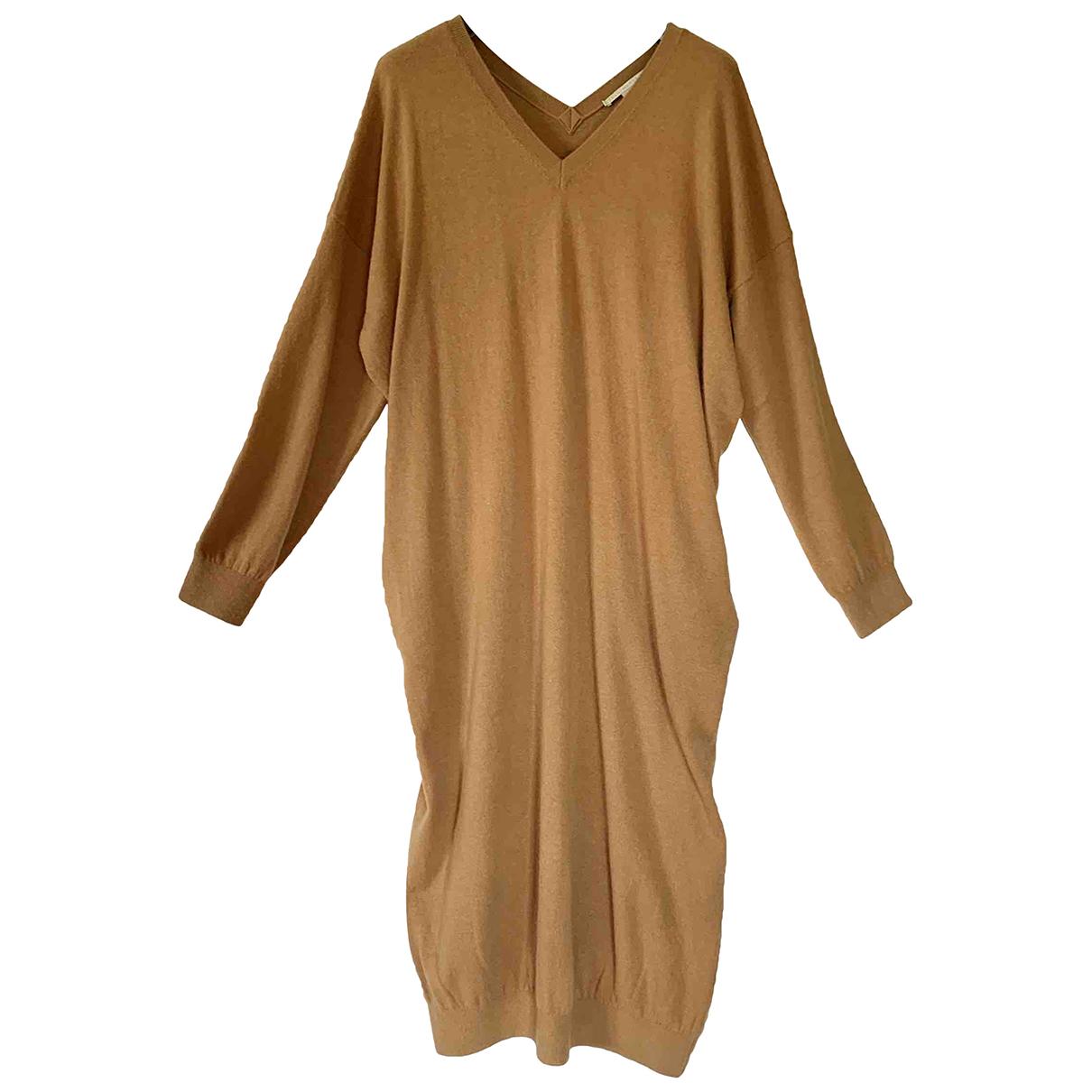 Stella Mccartney - Robe   pour femme en laine - camel