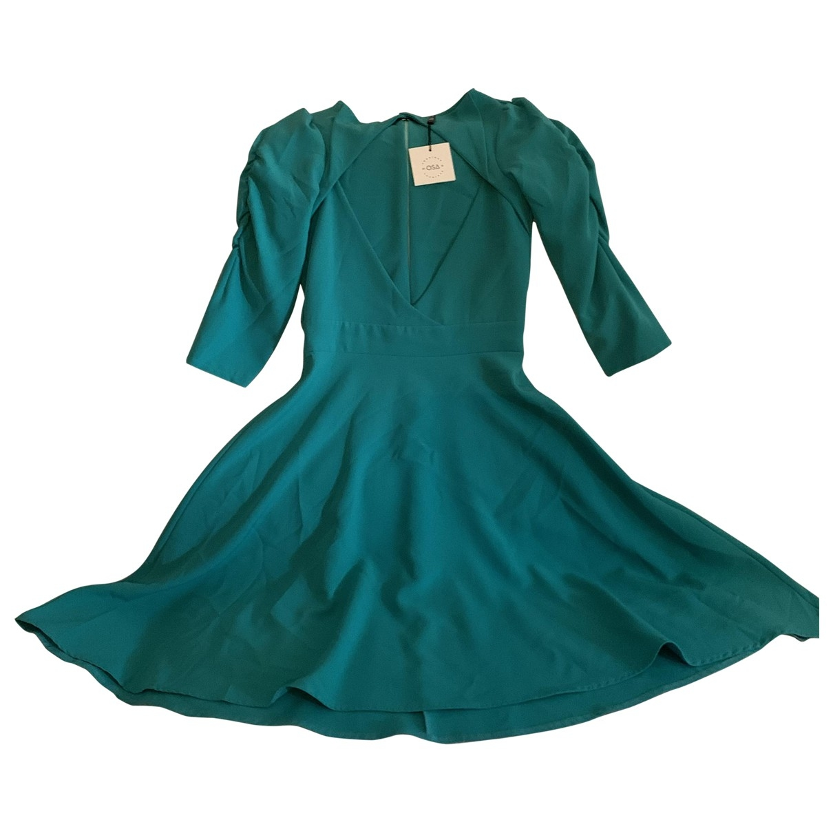 Non Signé / Unsigned \N Green dress for Women S International