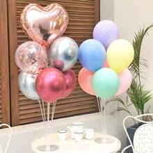 7pcs Balloon Set With 1pc Plastic Base