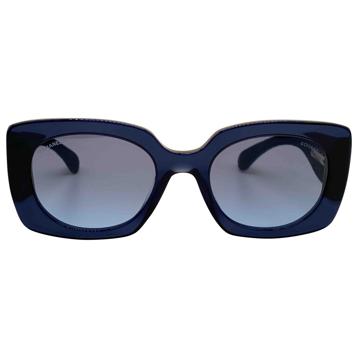 Chanel \N Blue Sunglasses for Women \N