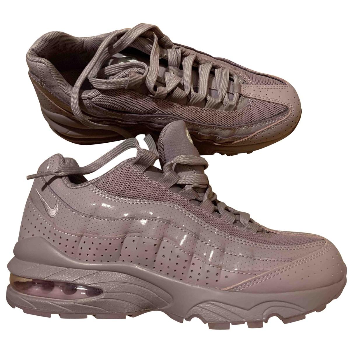 Nike - Baskets Air Max 97 pour femme en cuir - violet