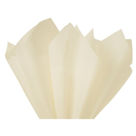 Pack Of 480, Solid Birch Tissue Paper 15 x 20 Sheet Half Ream Made From 100% Post Industrial Recycled Fibers