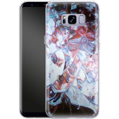 Samsung Galaxy S8 Plus Silikon Handyhuelle - Macro 3 von Gela Behrmann