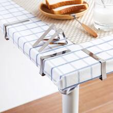6pcs Stainless Steel Tablecloth Holder