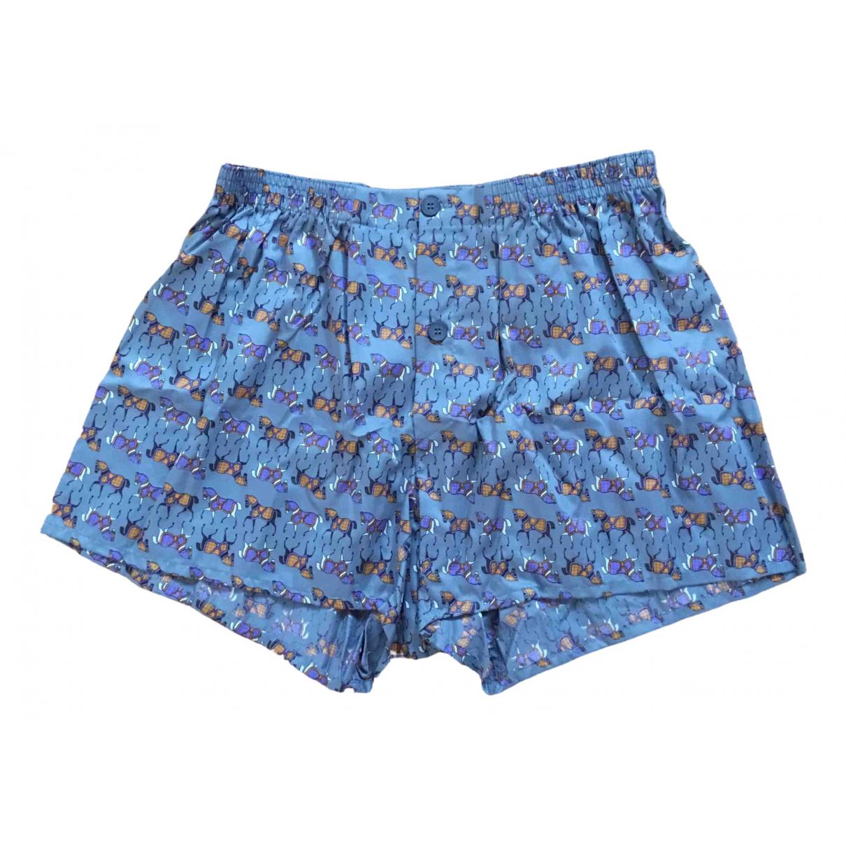 Yves Saint Laurent \N Multicolour Cotton Shorts for Men XXL International