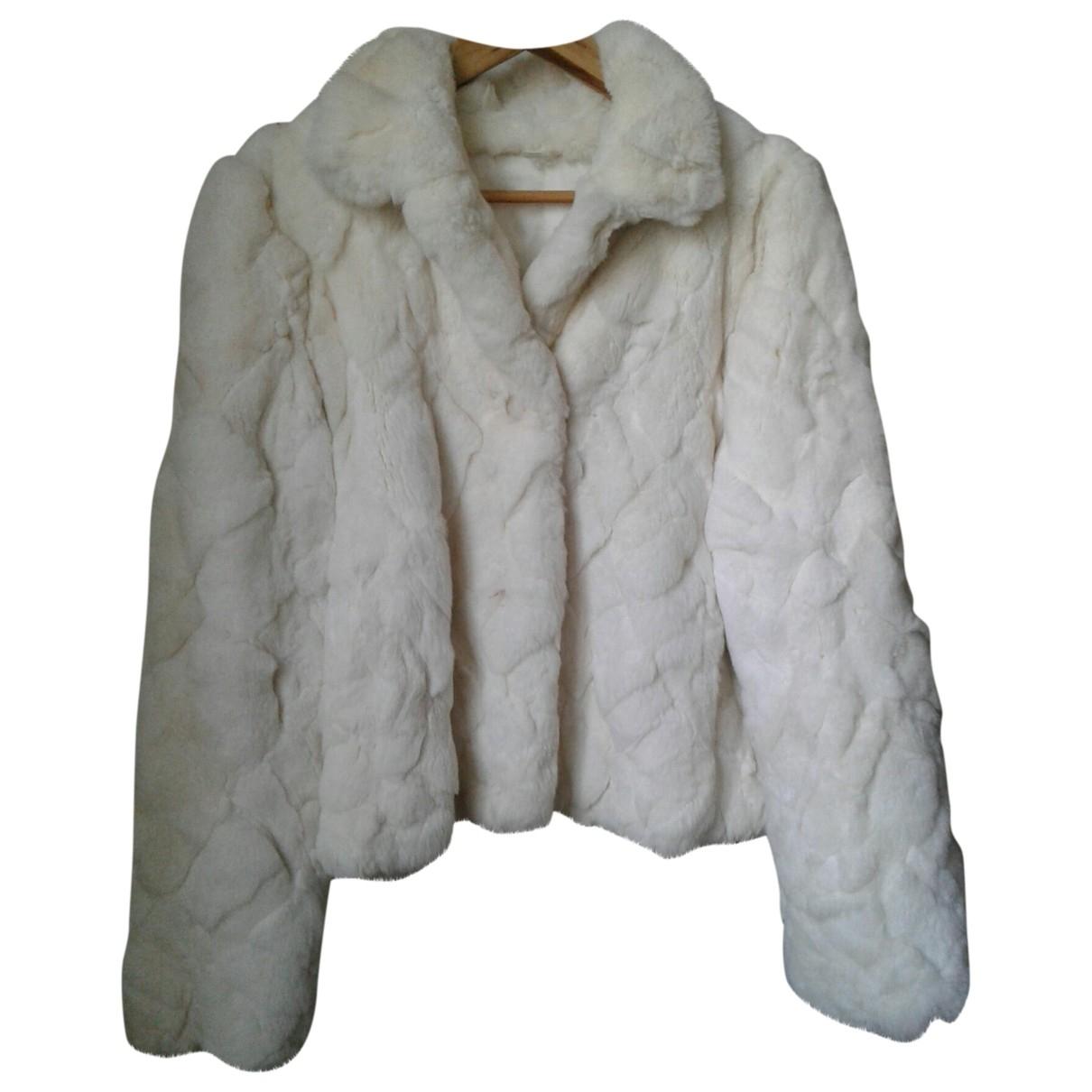 Sonia Rykiel - Veste   pour femme en lapin - blanc