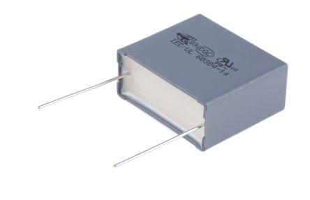 KEMET 2.2μF Polypropylene Capacitor PP 310 V ac, 630 V dc ±10% Tolerance Through Hole R46 Series (10)