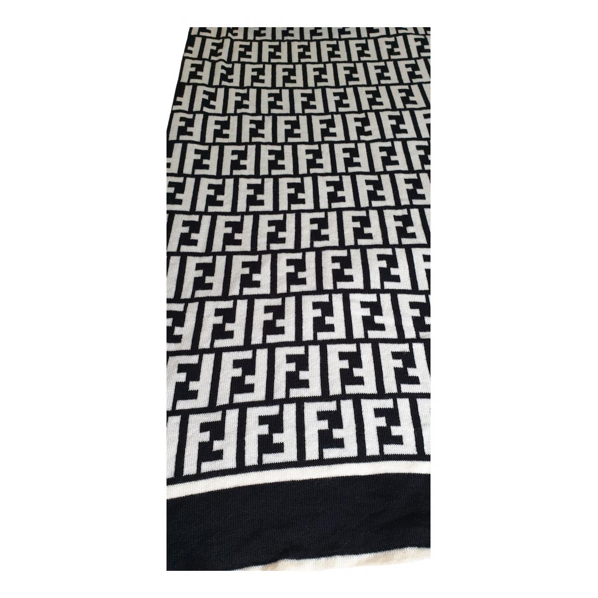 Fendi - Cheches.Echarpes   pour homme en laine - noir