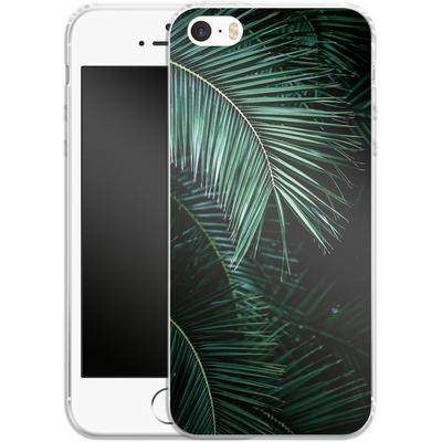 Apple iPhone SE Silikon Handyhuelle - Palm Leaves 9 von Mareike Bohmer