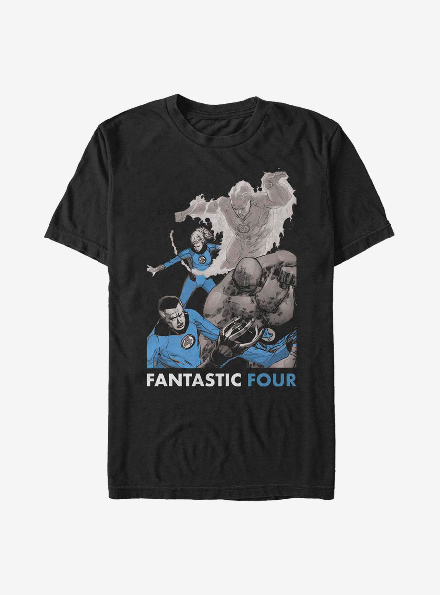 Marvel Fantastic Four The Four T-Shirt