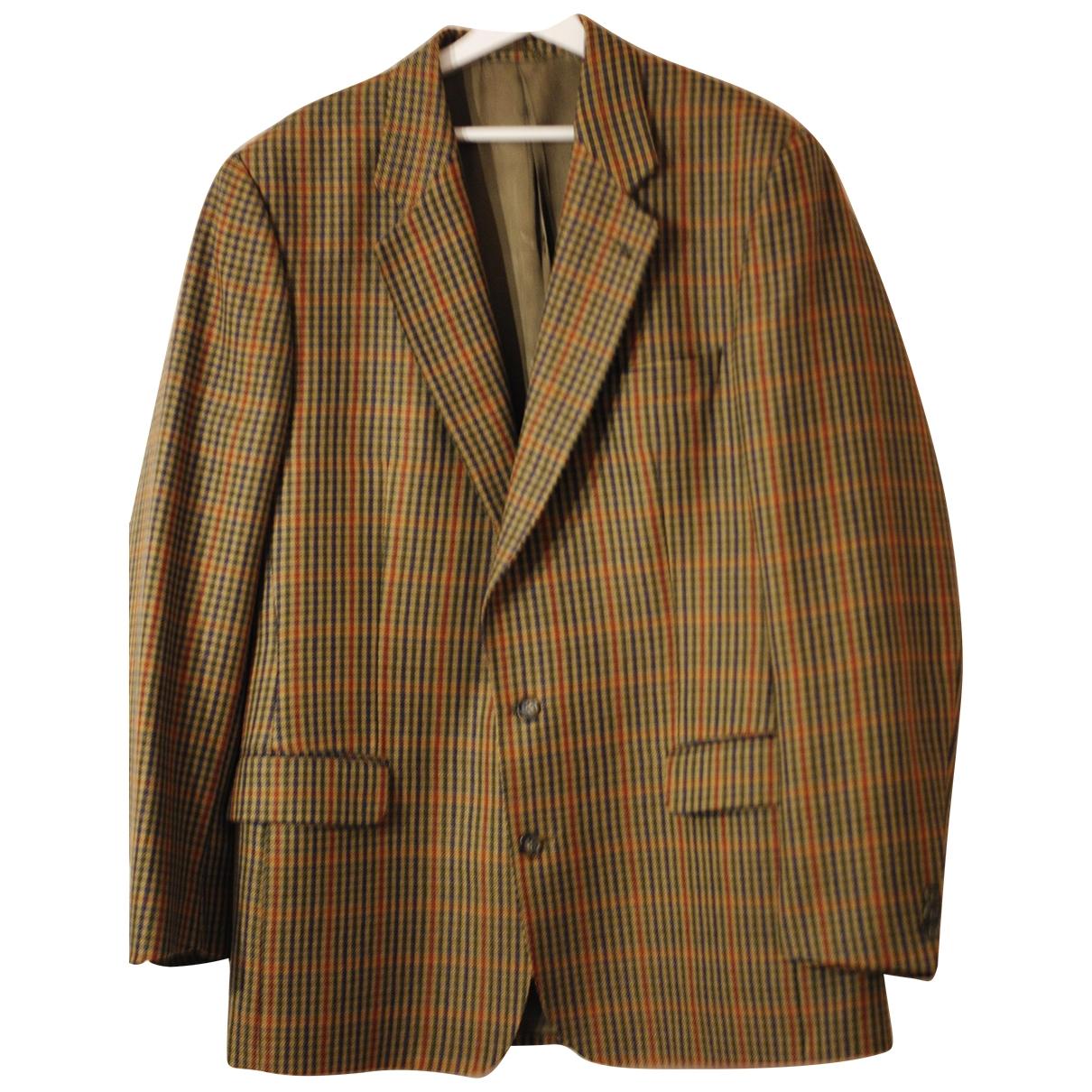 Burberry \N Multicolour Wool jacket  for Men 46 UK - US