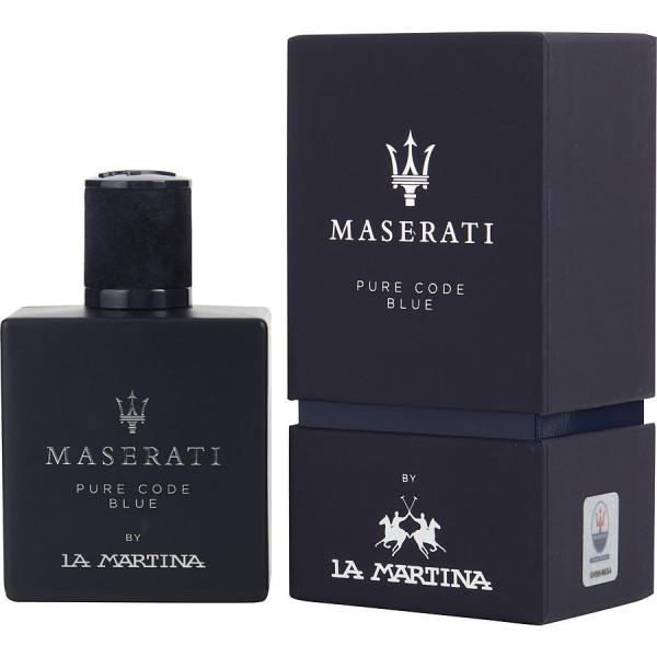 La Martina - Maserati Pure Code Blue : Eau de Toilette Spray 3.4 Oz / 100 ml