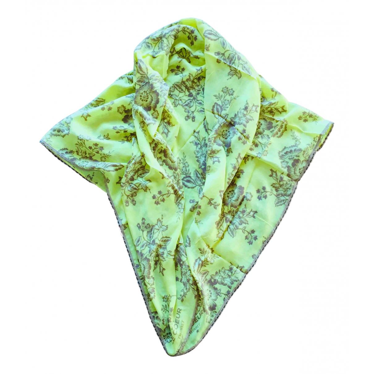 Twin Set \N Yellow scarf for Women \N