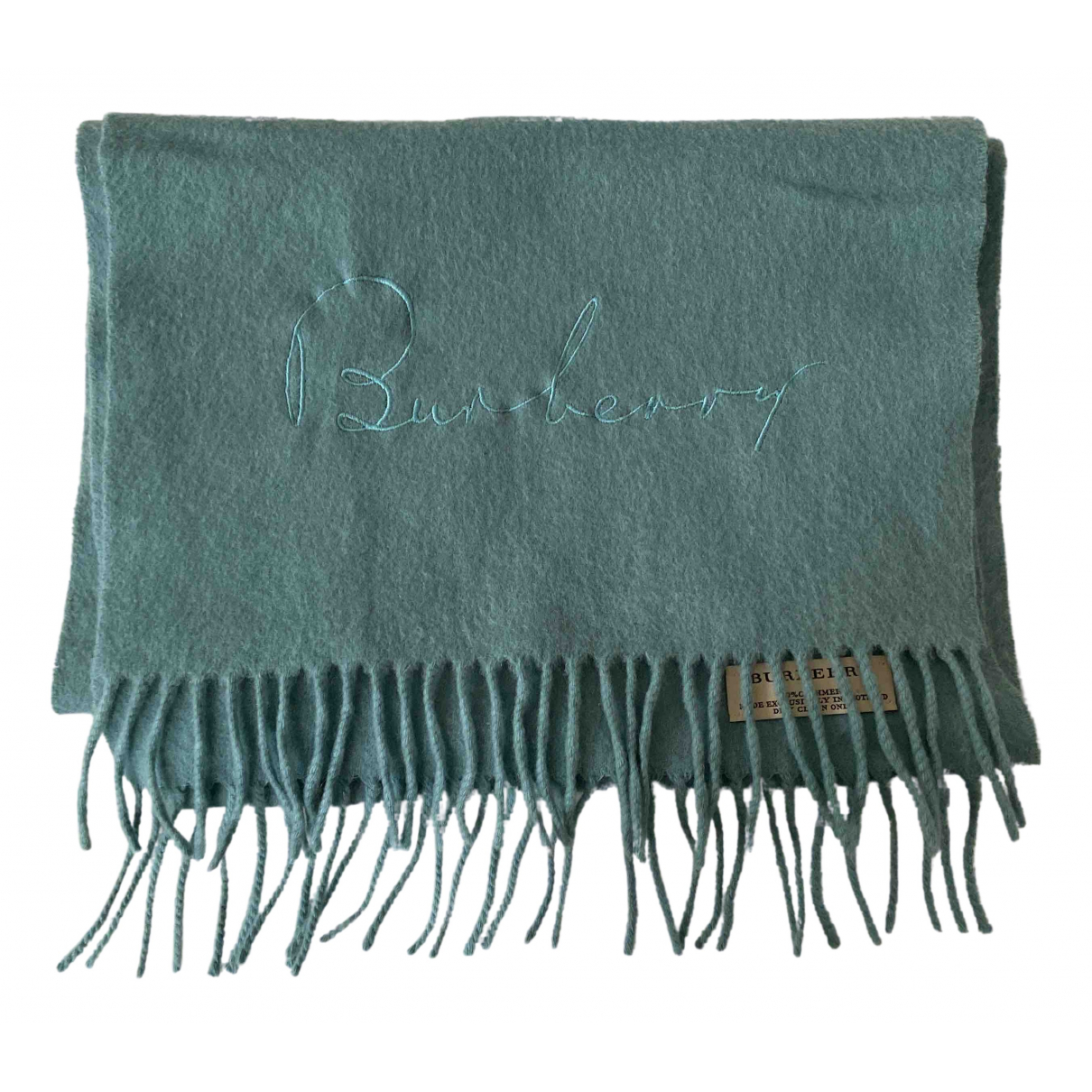 Burberry N Blue Cashmere scarf for Women N