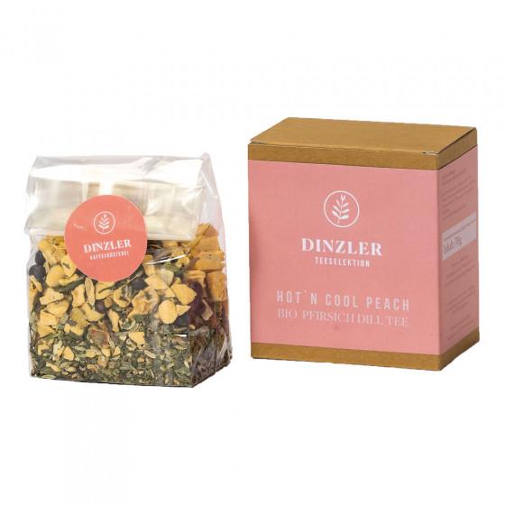 """Tee Dinzler Kaffeerosterei """"Hotn Cool Peach"""", 70 g"""