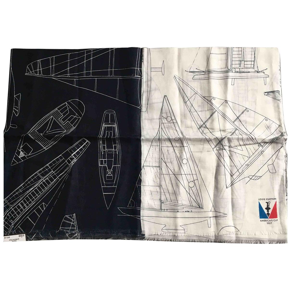Louis Vuitton - Cheches.Echarpes   pour homme en coton - marine