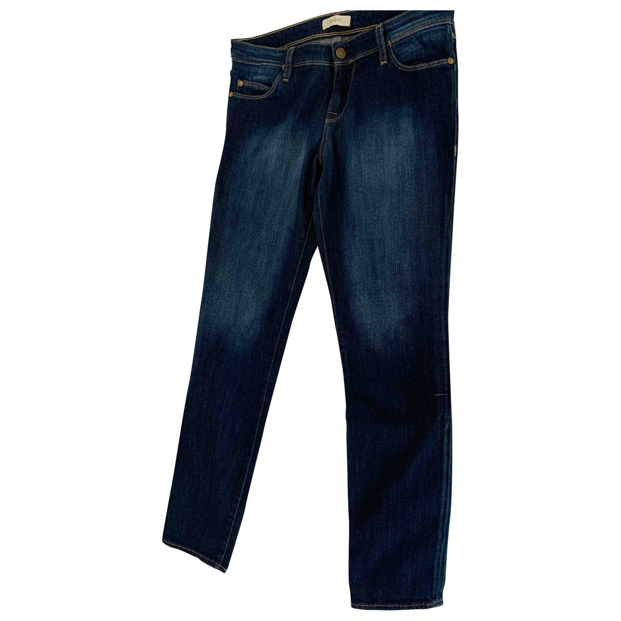 Ba&sh Fall Winter 2019 Blue Cotton - elasthane Jeans for Women 26 US
