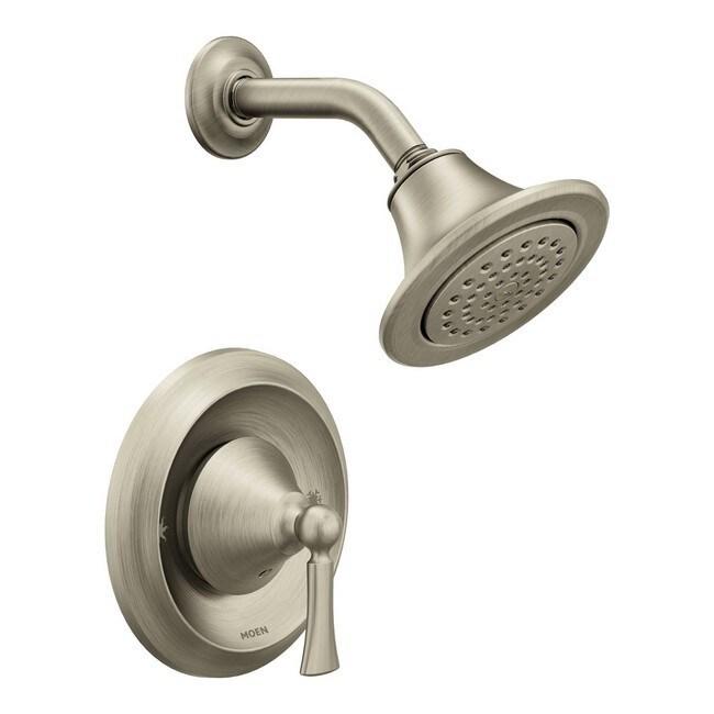 Moen Wynford Posi-Temp(R) Shower Only, Brushed Nickel (T4502EPBN) (Nickel)