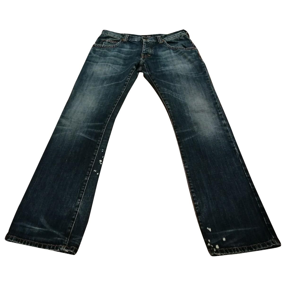 Armani Jeans \N Blue Cotton Jeans for Men 31 US
