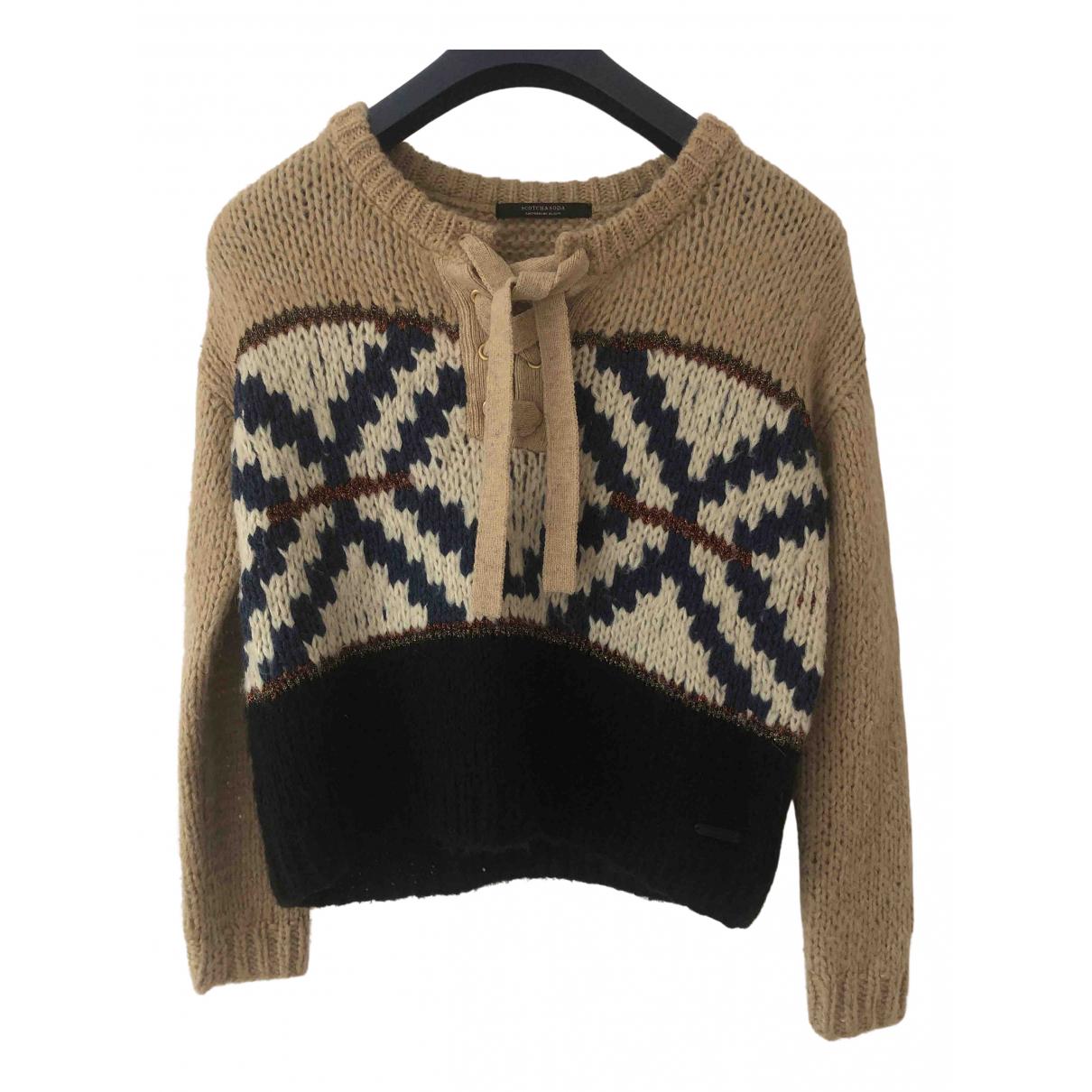 Scotch & Soda N Multicolour Wool Knitwear for Women XS International