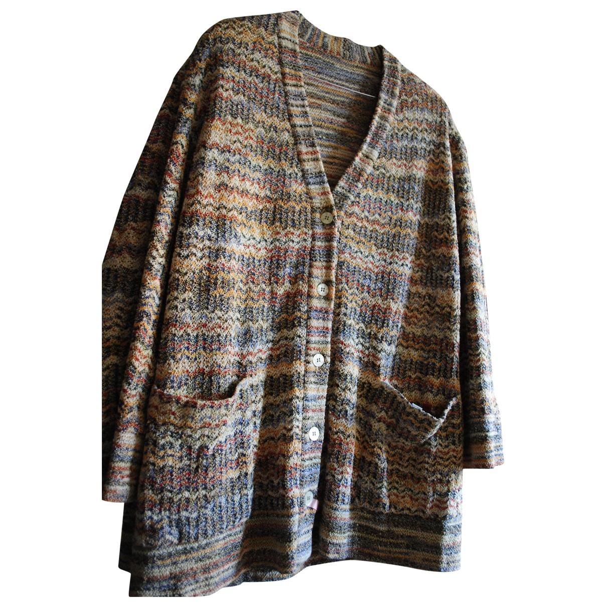 Missoni \N Pullover in  Bunt Leinen