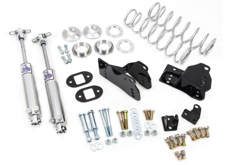 """UMI Performance 3048-110 1978-1988 GM G-Body Rear Coilover Kit, Control Arm Relocation, 2""""-3"""" Lowering"""