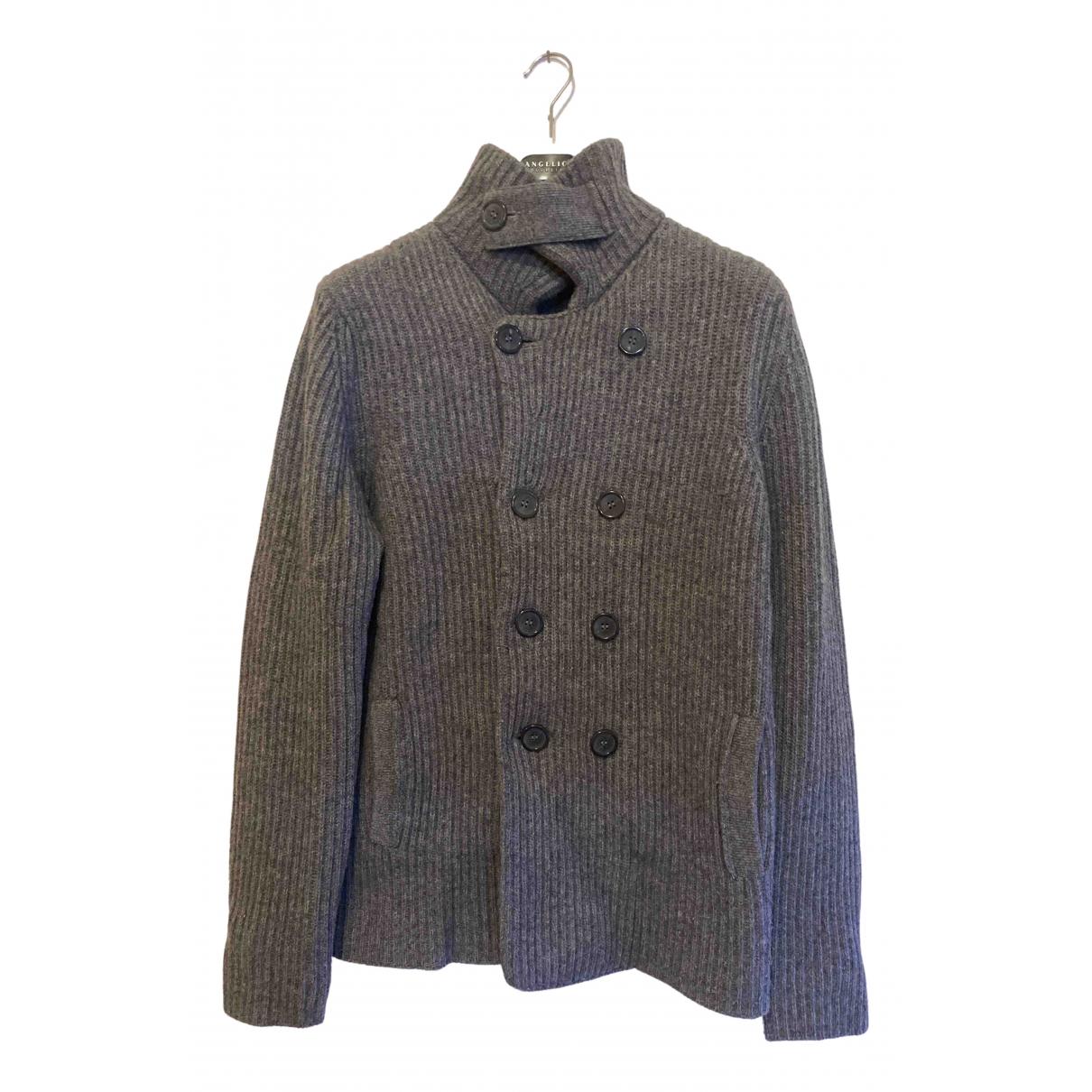 Stefanel \N Jacke in  Grau Wolle