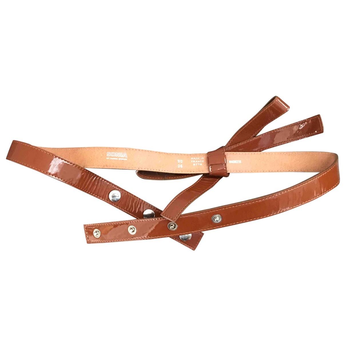 Cinturon de Charol Sonia By Sonia Rykiel