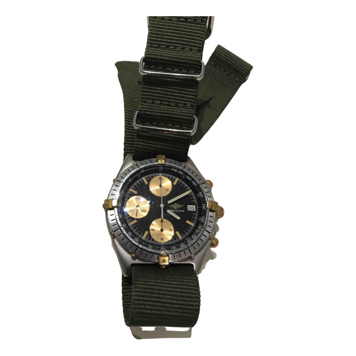 Breitling Chronomat Uhr in  Silber Gold und Stahl