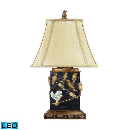 93-530-LED Birds On Branch LED Table Lamp  In