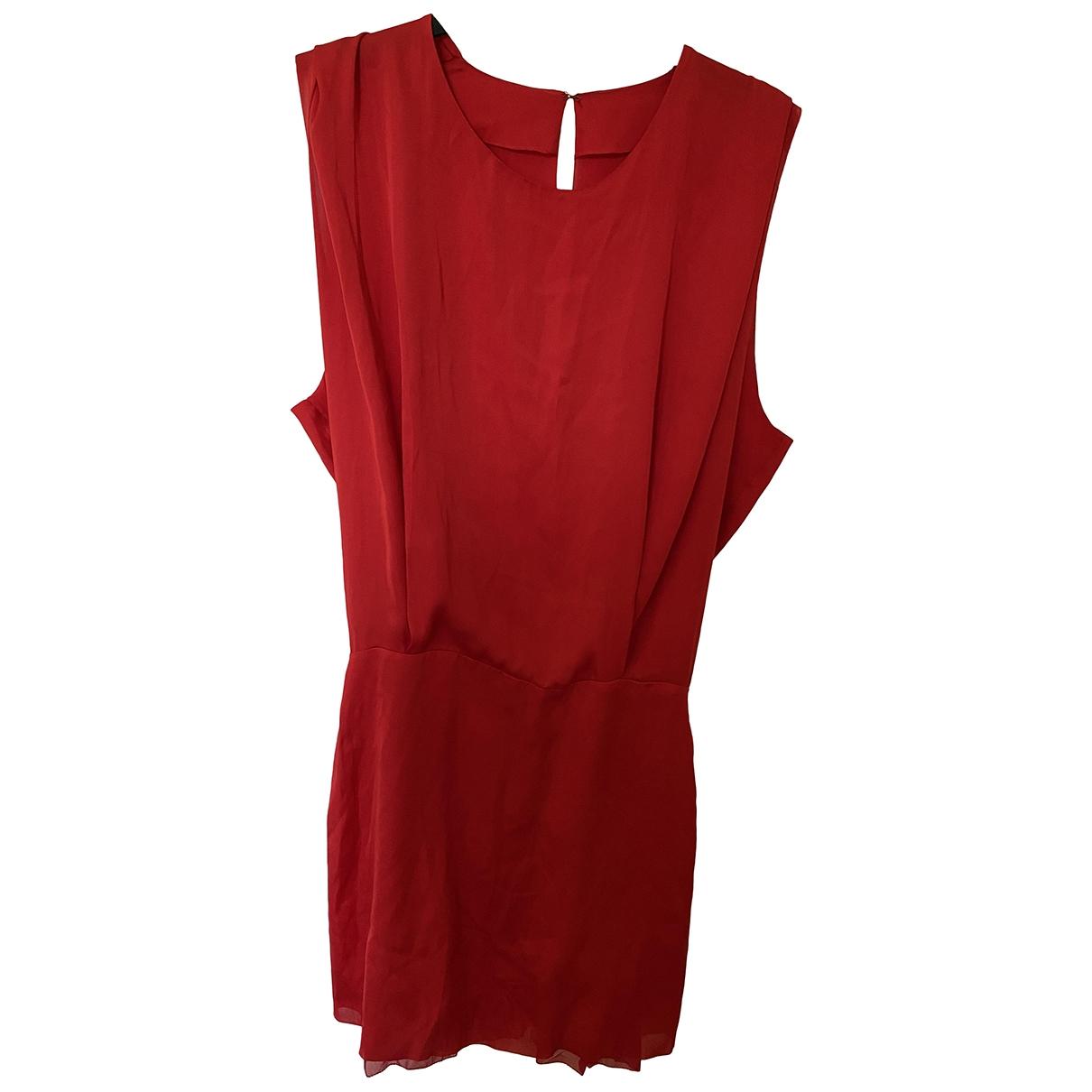 Acne Studios \N Kleid in  Rot Synthetik