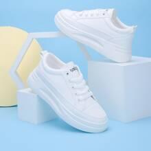 Skate Schuhe mit Band vorn und weiter Passform