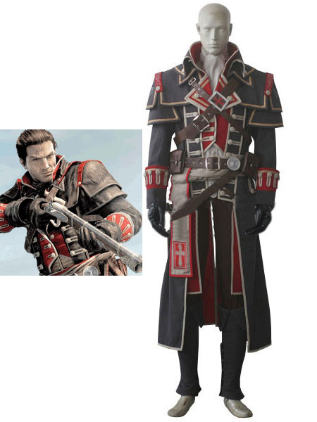 Milanoo Inspired By Assassin's Creed Unity Halloween Cosplay Costume Halloween