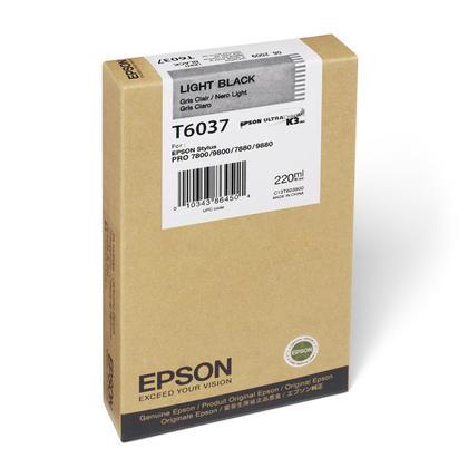 Epson T603700 cartouche d'encre originale noire clair