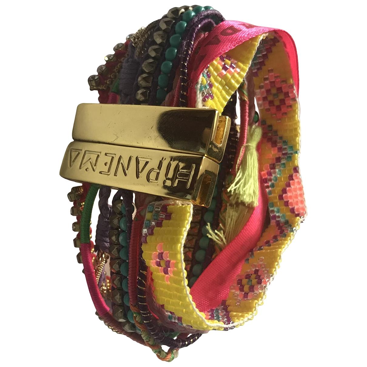 Hipanema \N Armband in  Rosa Metall