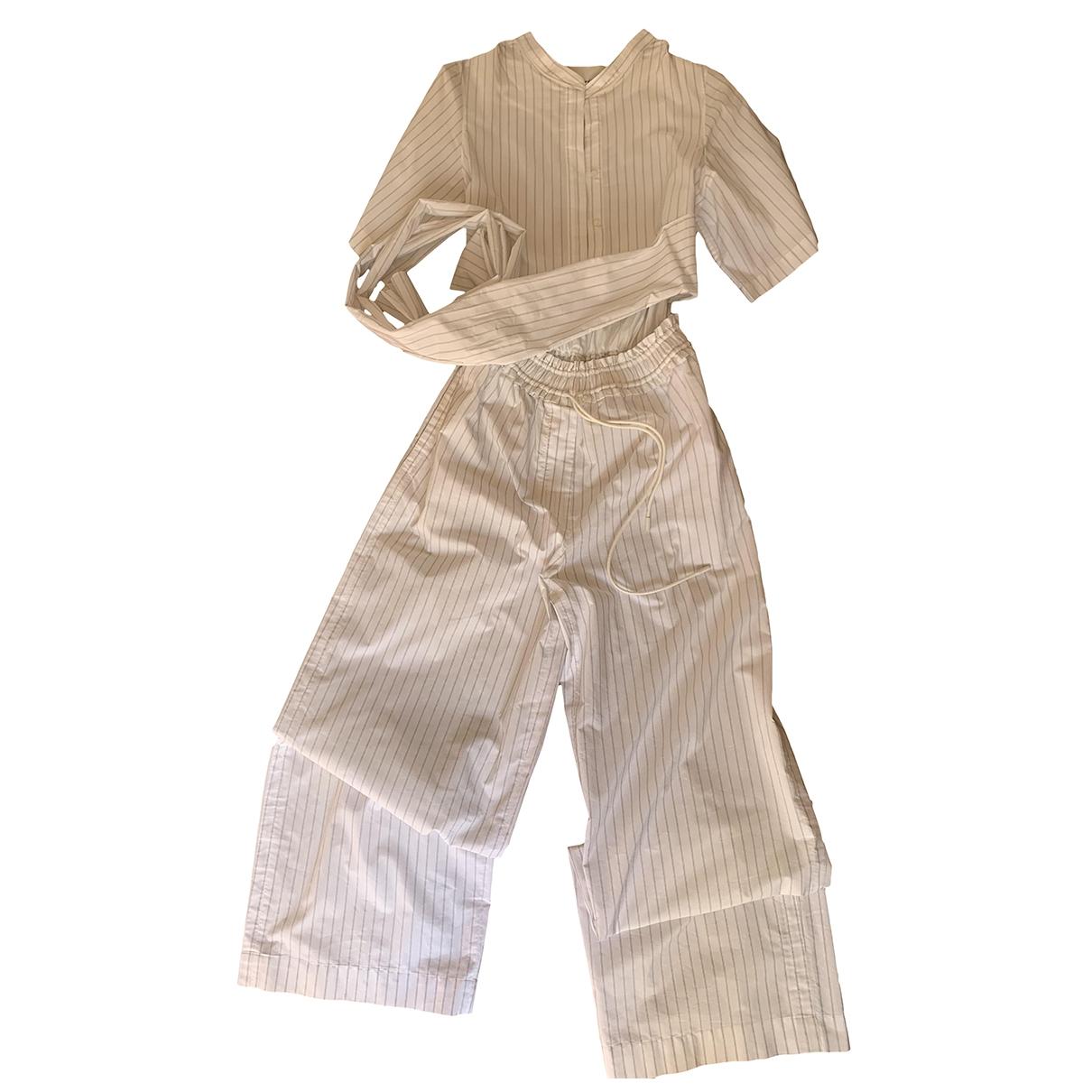 3.1 Phillip Lim - Combinaison   pour femme en coton - blanc