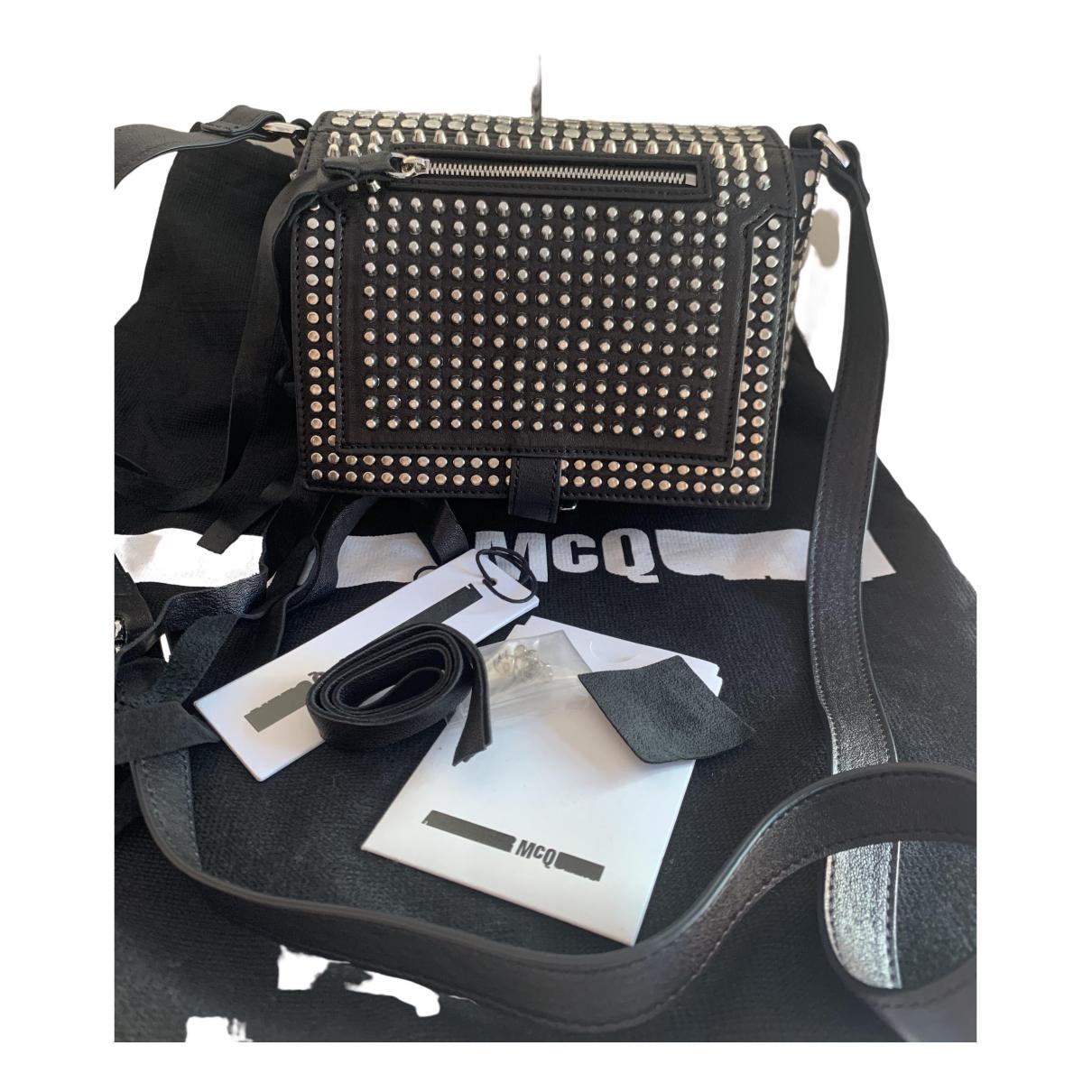 Alexander Mcqueen \N Black Leather handbag for Women \N